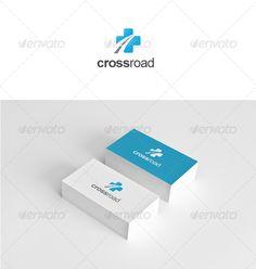 Cross Road - Logo Design Template Vector #logotype Download it here: http://graphicriver.net/item/cross-road/2235269?s_rank=617?ref=nexion