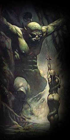 Fantasy art women boris vallejo frank frazetta 69 Ideas for 2019 Frank Frazetta, Boris Vallejo, Arte Sci Fi, Sci Fi Art, Fantasy Art Women, Conan The Barbarian, Sword And Sorcery, Arte Horror, Fantasy Kunst