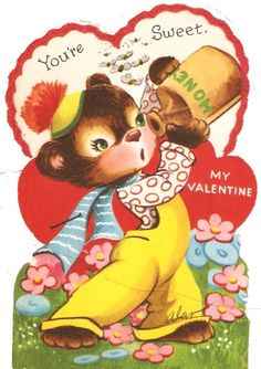 168 Best Vintage Valentine Cards Bears Images On Pinterest