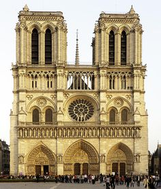 It truly is spectacular...Glowing Notre Dame Paris France