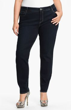 KUT from the Kloth Stretch Jeans (Plus) available at #Nordstrom    Less than $100
