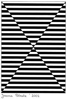 Bilderesultat for op art illusion Illusion Kunst, Illusion Drawings, Easy Op Art, Op Art Lessons, Opt Art, Art Optical, Optical Illusions Drawings, Simple Optical Illusions, Optical Illusion Art