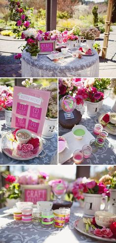 A Summertime Tea Party for Mothers and Daughters
