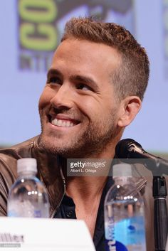 Actor Ryan Reynolds of 'Deadpool' speaks onstage at the 20th Century FOX panel during Comic-Con International 2015 at the San Diego Convention Center on July 11, 2015 in San Diego, California.