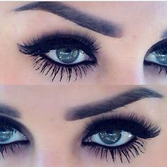 over the top lashes