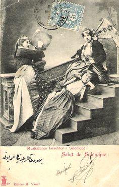 Salonique - musiciennes israélites
