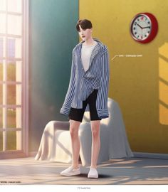 Early Summer Male Collaboratio Set for The Sims 4