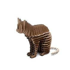 3D Puzzle Kitty / Cat Model Craft for Kids and Adults DIY Cool Unique Birthday   Presents Gifts Creative Toys Nice Home Room Desk Decoration, more detail from   Amazon