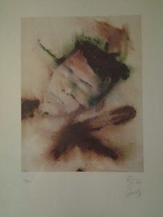 Selfportrait, litography 81/300 doublesigned :)