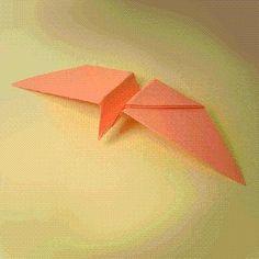 DIY Origami DIY Crats  DIY Origami Twirling Bird