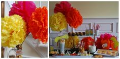 Lorax Party ideas from PartyBluPrints.  So cute I cannot stand it.
