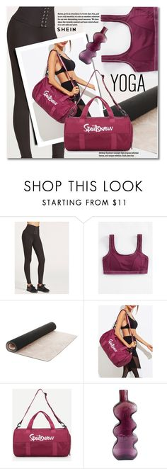 """""""Namaste: What to Wear to Yoga"""" by svijetlana ❤ liked on Polyvore featuring Laura Ashley, Blenko, yoga and shein"""
