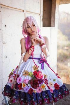 Guilty Crown Inori cosplay.