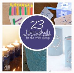 23 hanukkah crafts and activities | Moms and Crafters