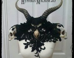 Vampire Coutessa Catacomb Couture Feather and by HysteriaMachine