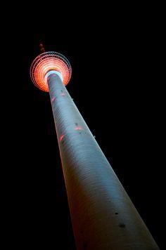 Festival of Lights Berlijn - Fernsehturm Berlin - wattedoeninberlijn.nl