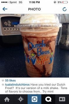 Dutch Brothers secret menu. Yes, you read that right. Probably the ...