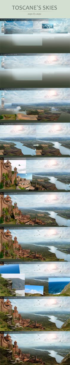 Steps by steps: Toscane by ~Tony-ob on deviantART