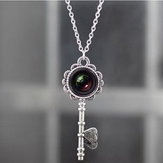 Camera Necklace Key Pendant for Photographers, Photography Necklace Key Camera Art Photo Handmade Glass, http://www.amazon.com/dp/B00RHW9XQQ/ref=cm_sw_r_pi_awdm_3QSOub1QHY4CW