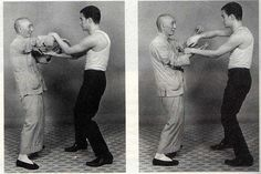 YIP MAN-  (1 October 1893 – 2 December 1972), also spelled as Ip Man,[2] and also known as Yip Kai-man, was a Chinese martial artist. He had several students who later became martial arts teachers in their own right, including Bruce Lee (Shown here training in Chi Sau with Yip man)