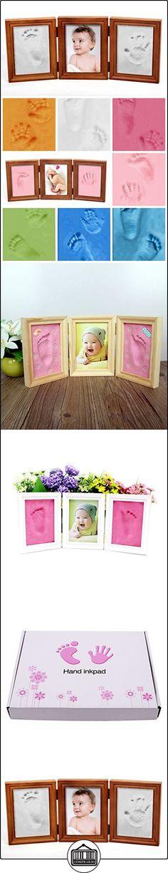 NaiFei Precious Baby Kit Casting Deluxe para el bebé Handprint o huella de madera de calidad Keepsake Marco Kit  ✿ Regalos para recién nacidos - Bebes ✿ ▬► Ver oferta: http://comprar.io/goto/B01LZRXJNM
