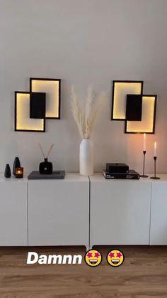 Room Design Bedroom, Home Room Design, Home Interior Design, Bedroom Decor, Diy Wall Art, Diy Wall Decor, Diy Crafts For Home Decor, Decorations For Home, Decor Home Living Room
