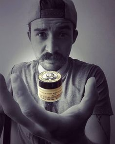 """Weird & Wonderful Wednesday: The levitating Moustache Wax.  """"The best wax, a great product and thanks to Captain Fawcett."""" My absolute pleasure Kevin Vela."""