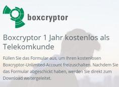 """Gratis: Jahreslizenz von Boxcryptor im Wert von 36 Euro für Telekom-Kunden https://www.discountfan.de/artikel/c_verbraucherschutz/gratis-jahreslizenz-von-boxcryptor-im-wert-von-36-euro-fuer-telekom-kunden.php Eine Jahreslizenz der Verschlüsselungslösung """"Boxcryptor"""" im Wert von 36 Euro ist jetzt für Telekom-Kunden komplett gratis zu haben. Die Offerte läuft noch bis kommenden Dienstag. Gratis: Jahreslizenz von Boxcryptor im Wert von 36 Euro für Telekom-Kun"""
