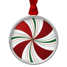 Image result for red round christmas ornamentS