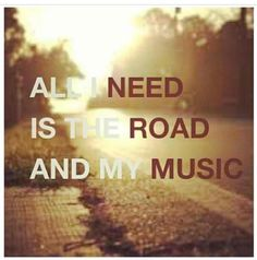 I think this is why I get so reflective when I'm back home driving those old dirt roads.  Just add the right songs.... and .. wow