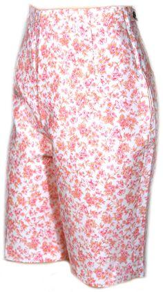 1960s Calico Shorts