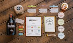Vibrant Vintage Brewpub Branding - The Freehouse's Contemporary Brand Identity Gets It Just Right (GALLERY)