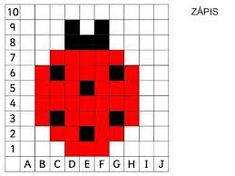 Risultati immagini per coding nella scuola primaria schede pixel art Cute Cross Stitch, Cross Stitch Kits, Cross Stitch Embroidery, Needlepoint Patterns, Perler Patterns, Computational Thinking, Printable Puzzles For Kids, Free Printables, Graph Paper Art