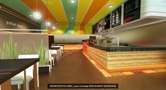 fast food restaurant | Modern Falafel Fast Food Restaurant Design | projects | Projects A to ...