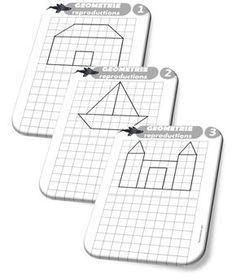 Séquence géométrie : repérage et orientation dans l'espace - Ateliers / mémos… Basic Programming, Area And Perimeter, Math 5, Montessori Math, Work Activities, Cycle 3, Teacher Organization, 3rd Grade Math, Home Schooling
