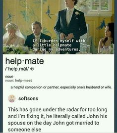 I love Martin's face when he said that.