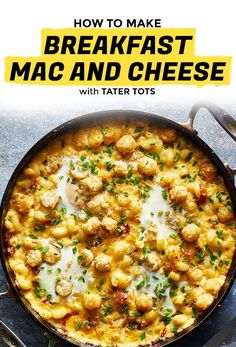 Eat This Breakfast Mac and Cheese Straight Out of the Pan | Extra Crispy
