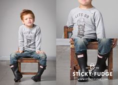Sticky Fudge's winter range available for girls, boys and babies at www.ohbaby.co.za/shop!