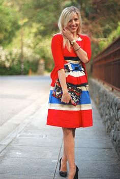 Bold colors with classic cuts