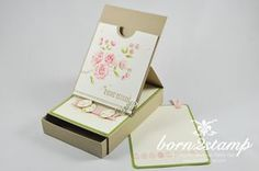 STAMPIN' UP! born2stamp Ostereiersuche - Frohe Osterbotschaft - Ei, ei, ei - Gorgeous Grunge - Easel card mit Box