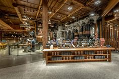 The World's Largest Starbucks Is The Willy Wonka Factory Of Coffee   Co.Design   business + design