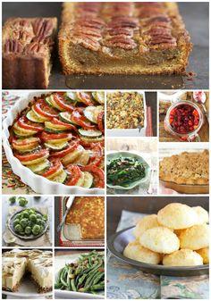 15 Grain-Free Thanksgiving Recipes via DeliciouslyOrganic.net (Paleo, Gluten Free)