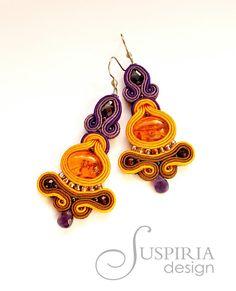 Suspiria Design: Bursztyn, pomarańcz i fiolet.