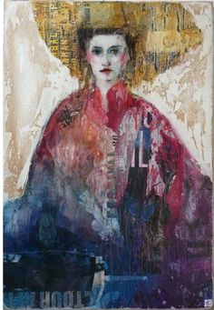 Catharine Miller is a London-based art gallery specialising in contemporary, figurative, affordable paintings and sculpture from Europe and South America. L'art Du Portrait, Abstract Portrait, Watercolor Portraits, Figure Painting, Painting & Drawing, Art Visage, Unicorn Art, Monochrom, Celine
