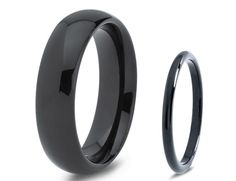 His & Hers Men Women Matching Set Tungsten Carbide by GiftFlavors