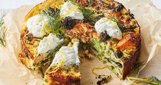 We've given the classic quiche a healthy makeover by swapping sour cream for high-protein yoghurt and adding nutrient-rich salmon. It's perfect for a healthy lunch, dinner or when you're entertaining. Lunch Meal Prep, Healthy Meal Prep, Healthy Eating, Healthy Recipes, Healthy Mind, Healthy Cooking, Clean Eating, Quiche Recipes, Egg Recipes