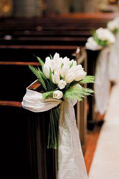 tulip wedding flowers // brides of adelaide magazine