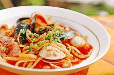 Spaghetti alla Marinara #pasta #italianfood #cucinaitaliana