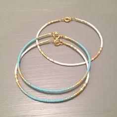 Regalos de Dama de honor pequeño reborde joyas delicada pulsera algo azul pulsera