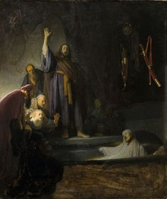 Rembrandt Harmensz. van Rijn - The Raising of Lazarus - Professional Artist is the foremost business magazine for visual artists. Visit ProfessionalArtistMag.com.- www.professionalartistmag.com